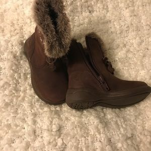 Baby girls Clark's Boots size 4